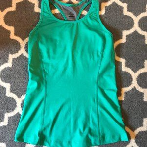 Nike Tank with Built in Bra Teal Sz M
